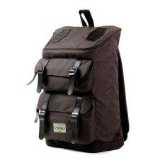 Visval Tas Ransel Laptop Backpack Majestic - Brown