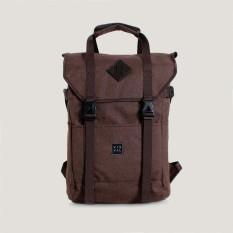 Visval Tas Ransel Laptop Backpack Zoom - Brown