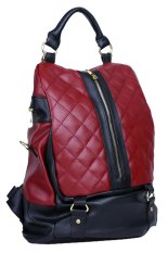 Promo Toko Viyar Rose Backpack Dark Red