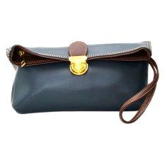 Jual Viyar Sweet Pea Clutch Bag Dark Biru Online Di Indonesia