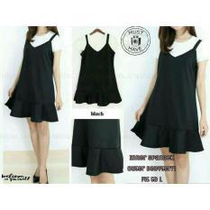 [vlyapriskila] 178008 Setelan Dress Fashion Wanita 2in1 Free Inner