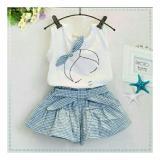 Harga Vlyapriskila Fq Kids Set Beauty Sleep Blue Setelan Anak Fashion Anak Perempuan Satu Set