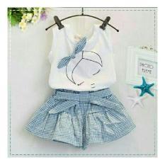 Beli Vlyapriskila Fq Kids Set Beauty Sleep Blue Setelan Anak Fashion Anak Perempuan Cicilan