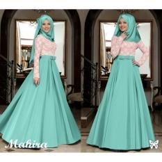 [vlyapriskila] SS HIJAB GAMIS Mahira ELEGAN / Baju Muslimah Fashion Wanita Gamis Hijab Rok Pakaian Wanita
