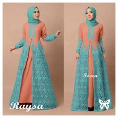 Iklan Vlyapriskila Ss Hijab Raysa Gamis Brukat Baju Muslim Fashion Wanita Pasmina
