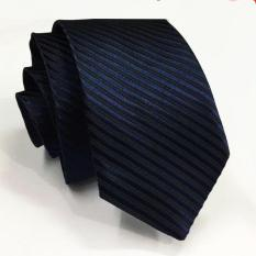 Promo Vm Dasi Fashion Slim Biru Navy Navy Blue Ties Vm Terbaru