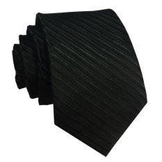 Top 10 Vm Dasi Fashion Slim Hitam Polos Garis Long Slim Tie Online