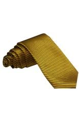 Toko Vm Dasi Polos Garis Slim 3 Inch Emas Gold Vm