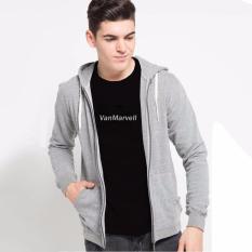 VM - Jaket Polos Basic Fleece Abu Muda