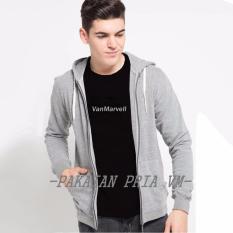 Spesifikasi Vm Jaket Zipper Jumbo Big Size Xl Xxl Xxxl Abu Muda Murah Berkualitas