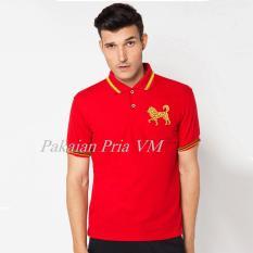 Review Vm Kaos Polo Shirt Merah Edisi Imlek Bordir Logo Anjing Hoki Dki Jakarta