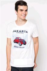 VM Kaos Polos Oblong O Neck Tangan Pendek - Simple T Shirt - ct 06 - Putih