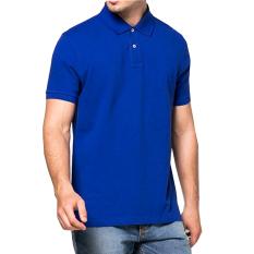 Vm Kaos Polos Polos Shirt Biru Benhur Vm Diskon 30