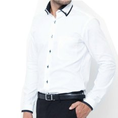 Berapa Harga Vm Kemeja Casual Fashion Slimfit Putih Panjang Long Shirt Nf Platinum 08 Di Dki Jakarta