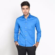 Harga Vm Kemeja Formal Polos Slimfit Panjang Royal Blue Vm Original