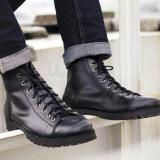 Spesifikasi Volker Footware Sepatu Ankle Boot Iris Monkeys Pria Black
