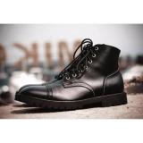 Jual Volker Footware Sepatu Ankle Boot Posaidone Black Pria Hitam Di Bawah Harga