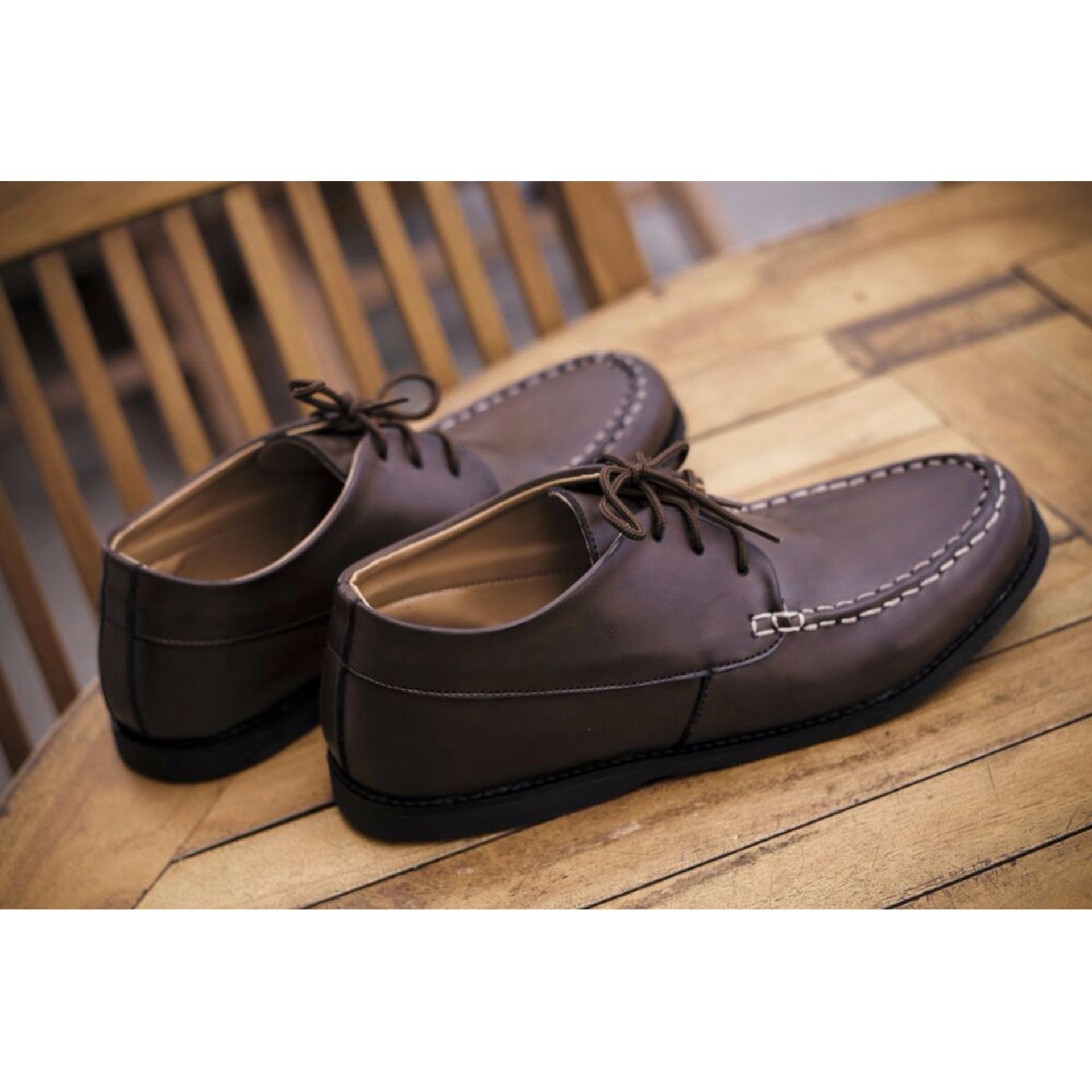 Volker Footware Sepatu Casual Formal Flex Brown Pria - Coklat. Info Harga  JuaL ... 0f7009805e