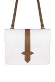 Harga Vona Kin Putih Cokelat Tas Wanita Selempang Sling Bag Envelope Clutch Mini Satchel Messeger Crossbody Kecil Vona Online