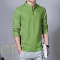 Vrichel Collection Baju Koko Arif Panjang (Hijau)