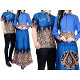 Beli Vrichel Collection Couple Batik Randa Biru Secara Angsuran