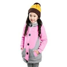 Harga Termurah Vrichel Collection Jaket Anak Kitty Pink