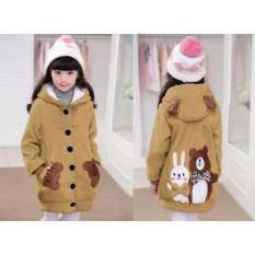 Harga Vrichel Collection Jaket Anak Perempuan Bear Bunny Coksu Dan Spesifikasinya
