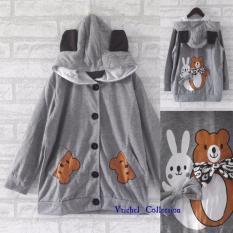 Spesifikasi Vrichel Collection Jaket Anak Perempuan Hoodie Fancy Murah