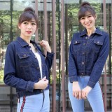 Jual Vrichel Collection Jaket Jeans Wanita Agnez Ori