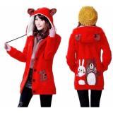 Spek Vrichel Collection Jaket Wanita Bear Bunny Merah Dki Jakarta