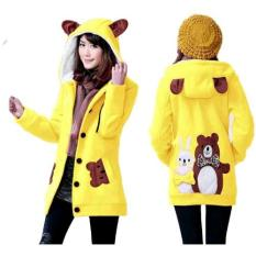 Ulasan Mengenai Vrichel Collection Jaket Wanita Bunny Bear Kuning