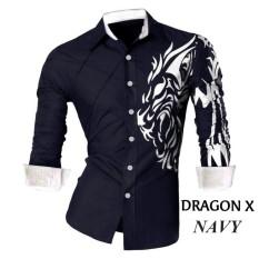 Jual Beli Vrichel Collection Kemeja Pria Dragon Best Seller Dki Jakarta