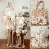 Toko Jual Vrichel Collection Mukenah Couple Ibu Dan Anak Lia Cream