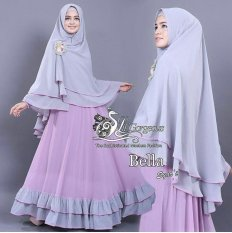 Vrichel Collection - Syari 2in1 bella (Lavender)