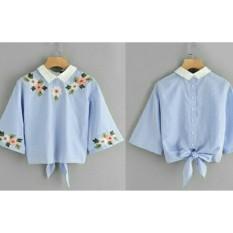 Vshop91jkt - Blouse Wanita Kenisa / Baju Wanita / Kemeja Wanita / Atasan Wanita / Blouse Korea / Atasan Korea / Baju Formal / Baju Formal