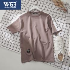 T-shirt W63 Korea Fashion Style Longgar Baju Kaos Pria Remaja (Khaki) baju atasan kaos pria kemeja pria