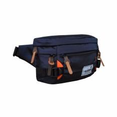 Harga Waist Bag Tas Selempang Tas Pinggang Llc565 Dark Blue Dan Spesifikasinya