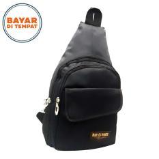 Spesifikasi Waistbag Baepack Pria Tas Selempang Tali Satu Desaing Casual 013A 10 Inchi Black Beserta Harganya