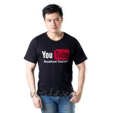 Walexa Kaos Distro Youtube Kualitas Premium Promo Baju Murah