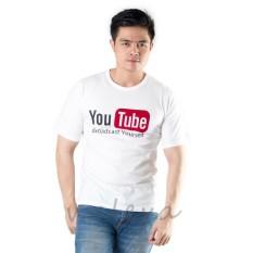 Jual Beli Walexa Kaos Distro Youtube T Shirt Putih Kaos Premium Baru Banten