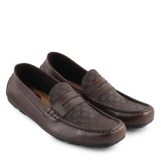 Toko Walkers Spain Loafers Sepatu Casual Slipon Pria Coklat Yang Bisa Kredit