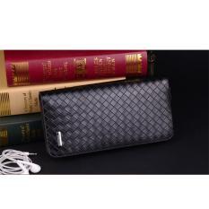 Wallet Dompet Panjang Pria Cowok Import Men S Long Wallet Black Sa0070H Original