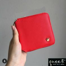 Cara Beli Wallet For Women Dompet Wanita Little Crown Red
