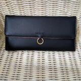 Beli Wallet Lady Dompet Kartu Wanita Bahan Halus Elegan Good Quality Black Cicil