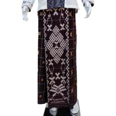 Beli Wan Sarung Pria Galaxy Motif 1 Silky Touch Coklat Murah