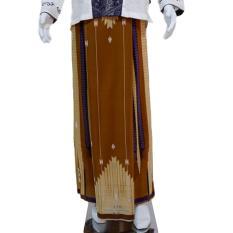 Jual Wan Sarung Pria Trendi Motif 6 Silky Touch Coklat Tua Wan Branded