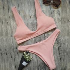 Wanita Dua Potong Baju Renang Bikini Bikini Mengatur Baju Renang Pantai Musim Panas Yang Lucu Wear Mini M Pantai mini
