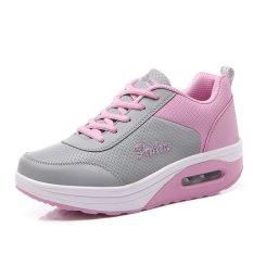 Busana Santai Wanita Her Kets Sepatu Olahraga Sepatu Lari Sepatu Berjalan Berwarna Merah Muda