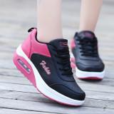 Toko Busana Santai Wanita Sepatu Kets Sepatu Olahraga Sepatu Lari Sepatu Berjalan Hitam Murah Di Tiongkok