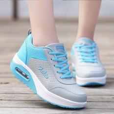 Jual Busana Santai Wanita Sepatu Kets Sepatu Olahraga Sepatu Lari Sepatu Berjalan Biru Online Di Tiongkok